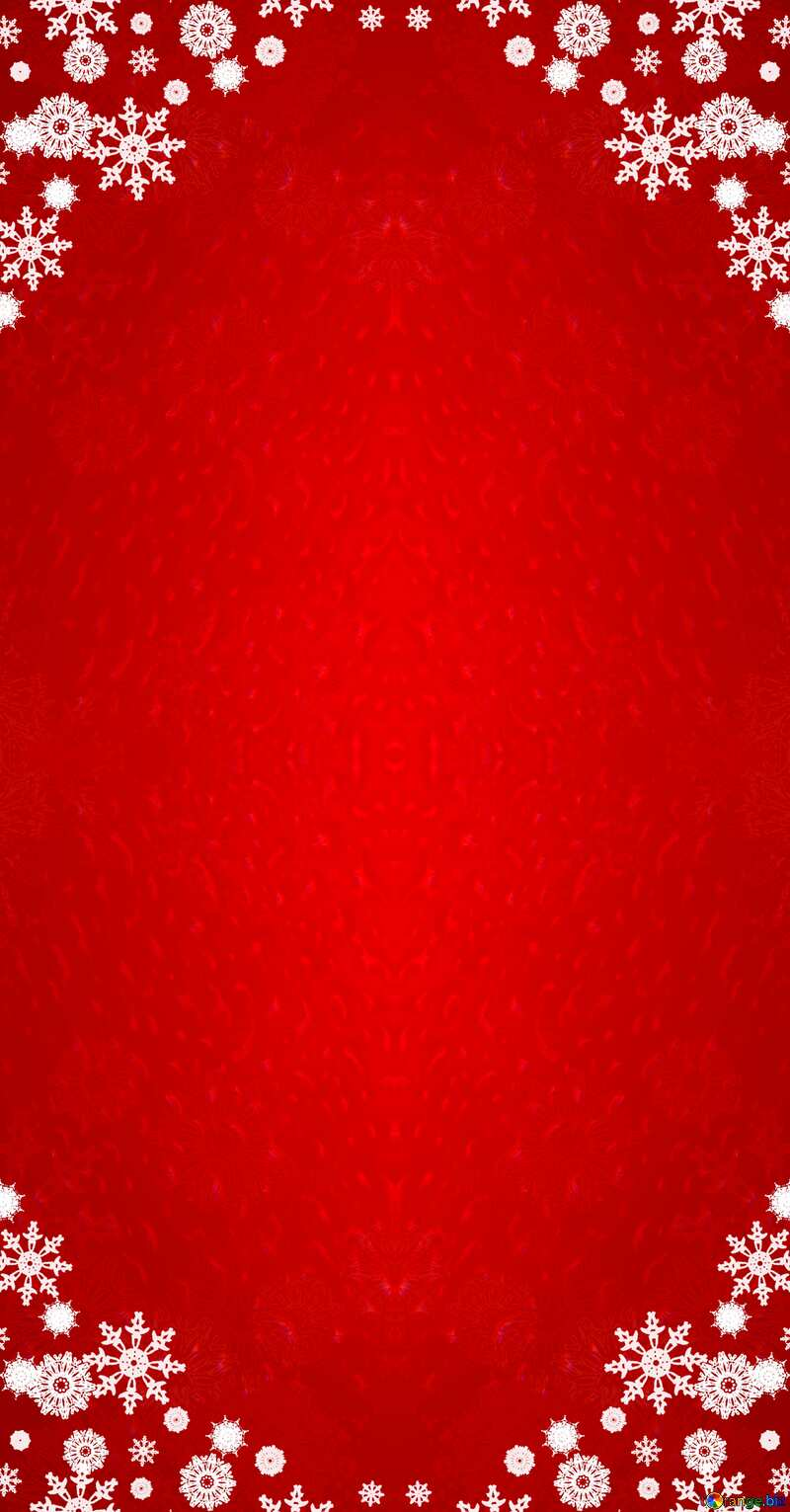 Red Christmas frame background     №40659