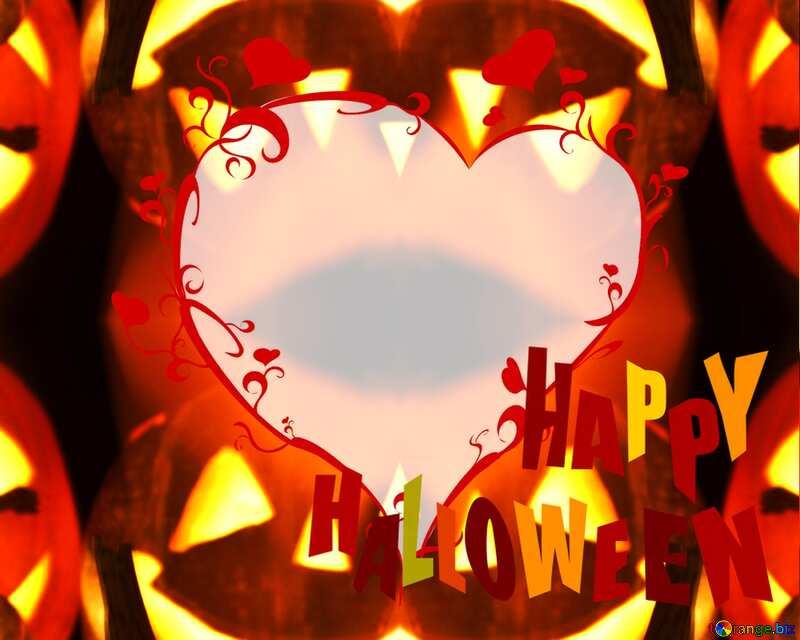 Halloween pattern happy halloween colors №5934
