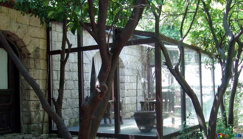 Winter garden near house №8548