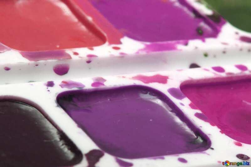 Colori pastello. Pitture ad acquerelli. №18025