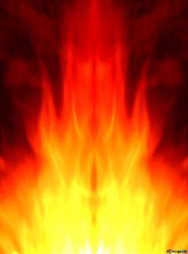 fire background for editing №9546
