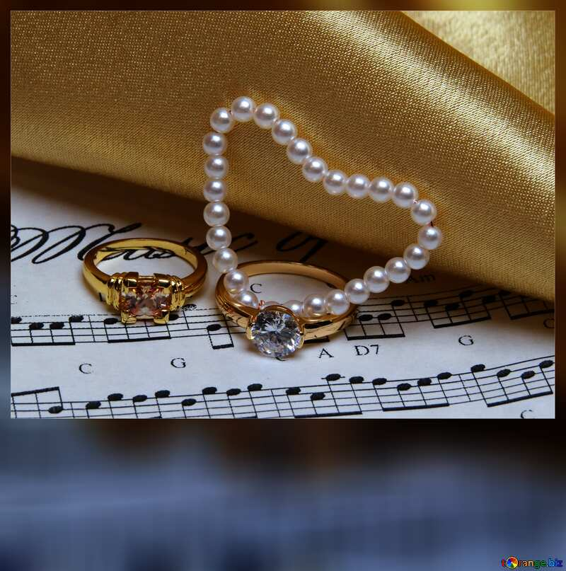 Music card weddings  №18226