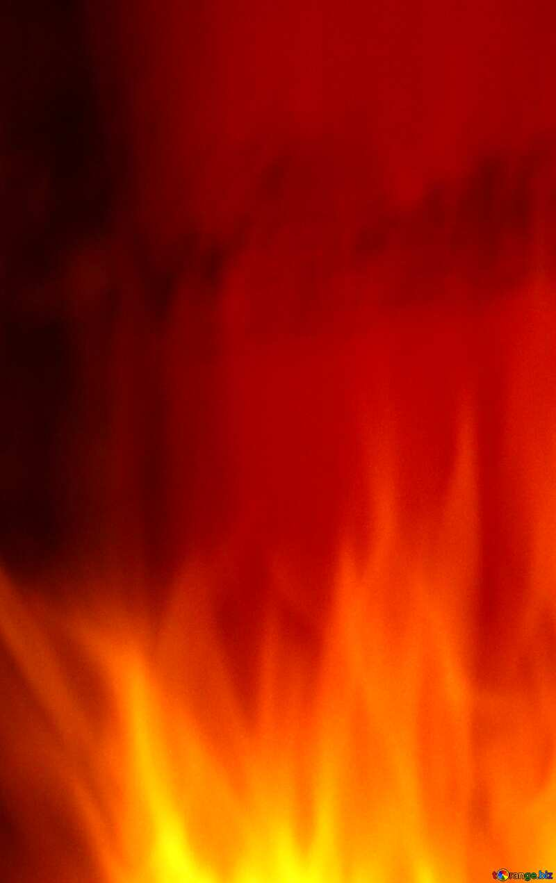 For SALE red fire banner background №9546