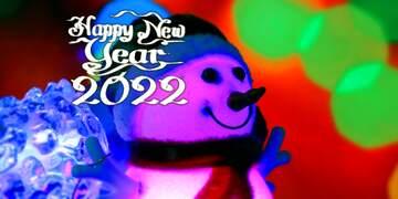 Эффект светлый. Яркие цвета. Эффект размытой рамки. Фрагмент. Happy New Year 2020.
