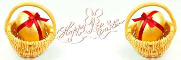 The effect of light. Vivid Colors. Template. Happy Easter card.