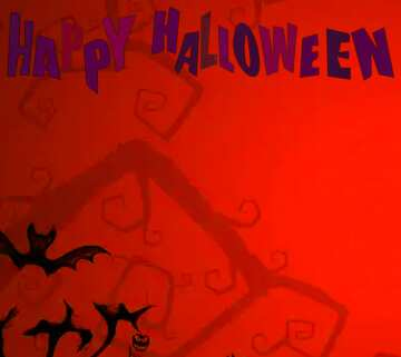 Vivid Colors. Fragment. Happy halloween.