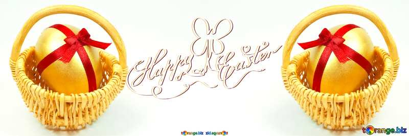 Easter  Postcard   eggs №8211