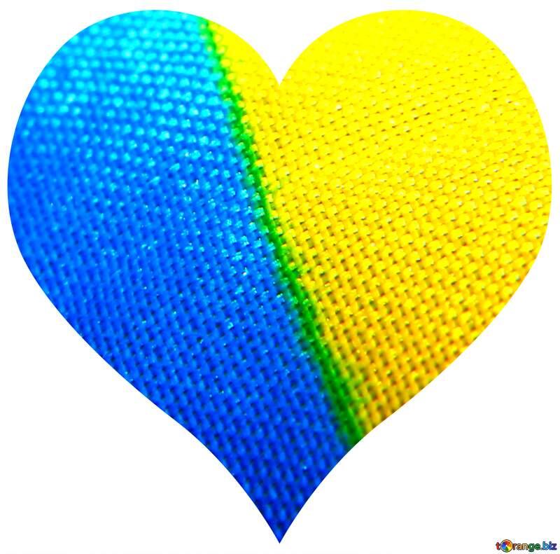 Heart Ukrainian Color №36245