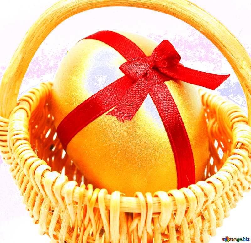 Easter  Postcard  egg  №8211