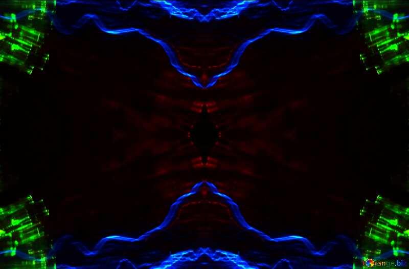 waves pattern background №25856
