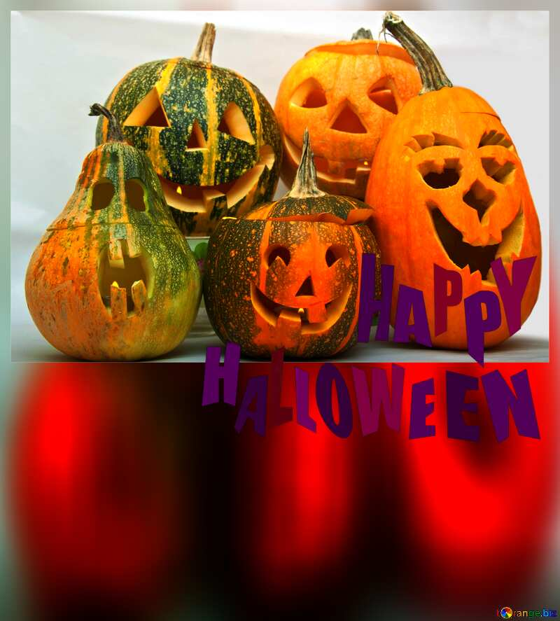 happy halloween pumpkin crafts №5958