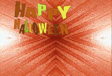 The effect of light. Very Vivid Colours. Fragment. Pattern. Happy halloween.