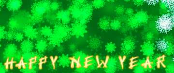 The effect of the hard dark. The effect of stained bright blue. Fragment. Card with text Happy New Year.