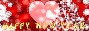 L'effetto della luce. Colori chiari. Frammento. Amore sfondo. Card with text Happy New Year.