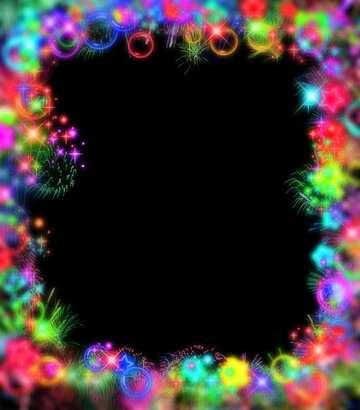 Эффект темный. Очень яркие цвета. Эффект размытой рамки.