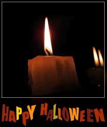The effect of light. Very Vivid Colours. Blur dark frame. Happy halloween.