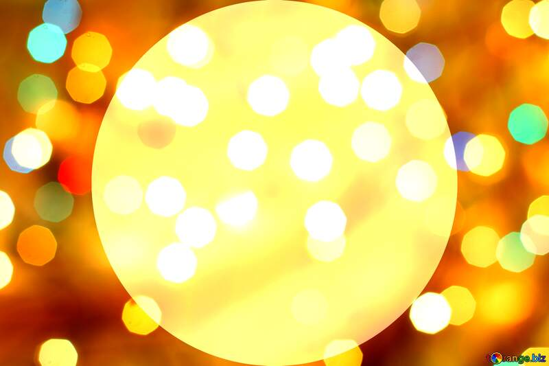 Christmas circle frame №24617