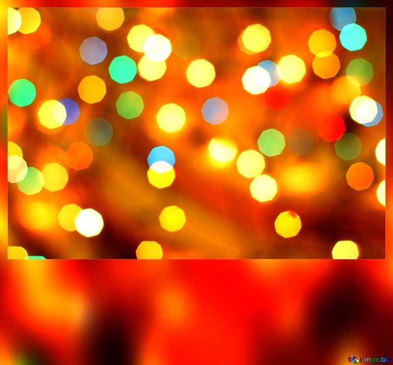 Christmas background blank card №24617
