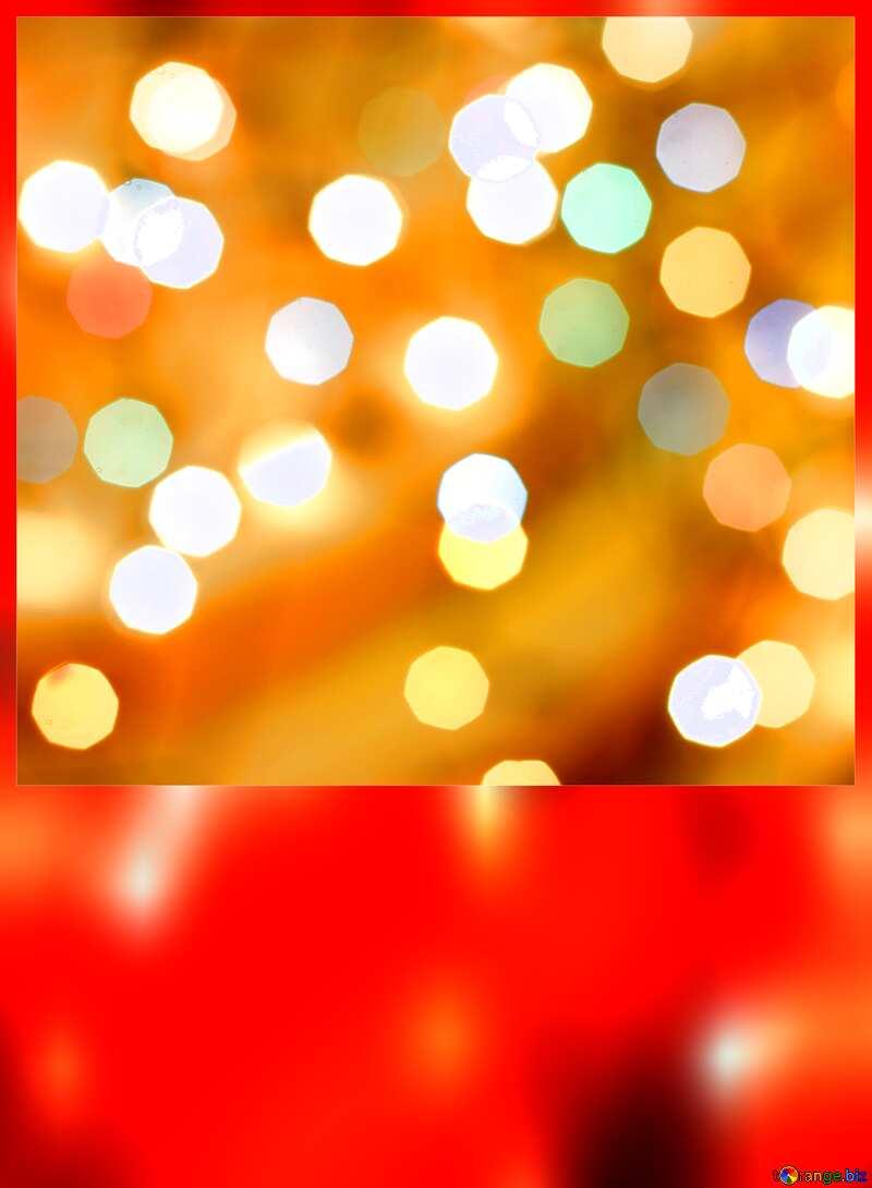 Christmas blank card №24617