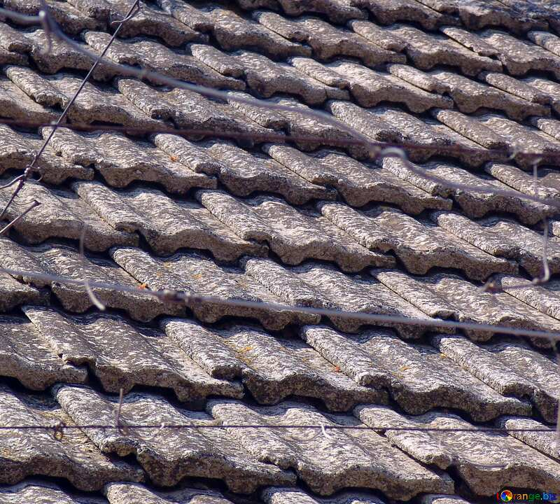 Old tile roof №5324