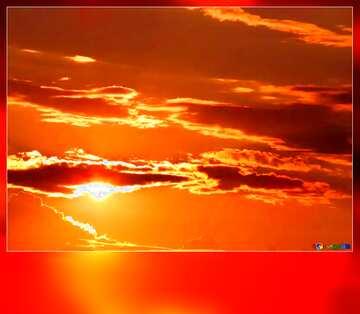 El efecto de la luz. Colores muy vivos. Bastidor la falta de definición.