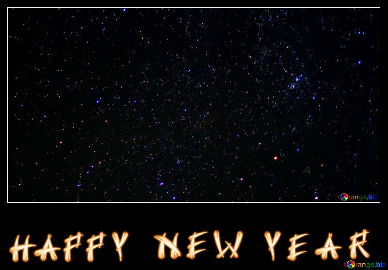 happy new year black sky №44713