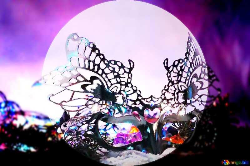 Masquerade template №17905