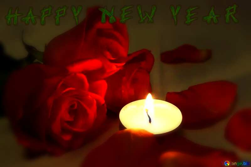 Romantic  night text happy new year №7276
