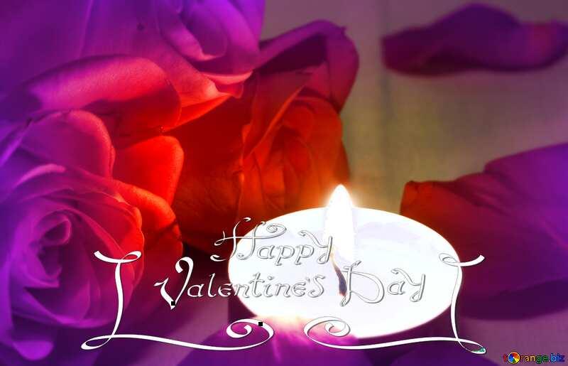 Romantic  night HAPPY VALENTINE DAY №7276