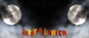 Fragment. Template. Happy halloween.